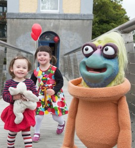 The minis at the launch of this year's Baboró Festival. Photo:Andrew Downes, xposure.